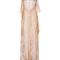 Peach micro floral flutter gown by etro | moda operandi