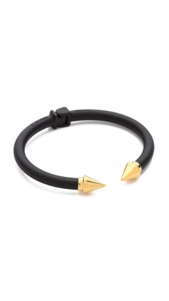 Vita Fede Mini Titan Two Tone Bracelet - Matte Black/Gold