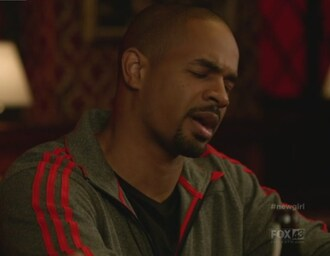 jacket coach damon wayans jr new girl adidas menswear