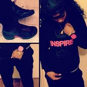 sweater,black,nike,pink,jewels,shoes