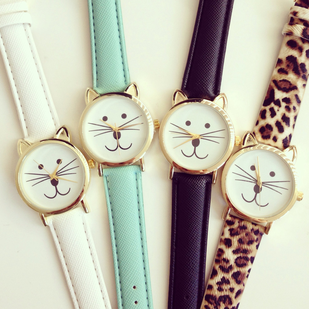 Smile kitty watch
