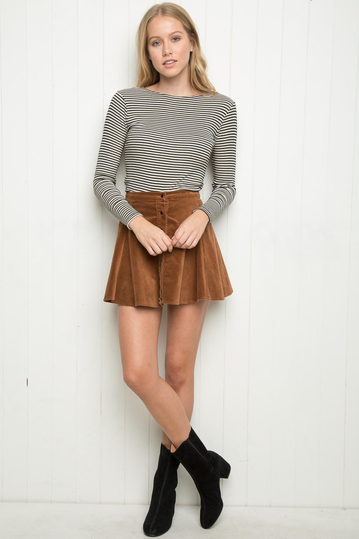ee32ae4f67 Brandy ♥ Melville   Brya Corduroy Skirt - Skirts - Bottoms - Clothing