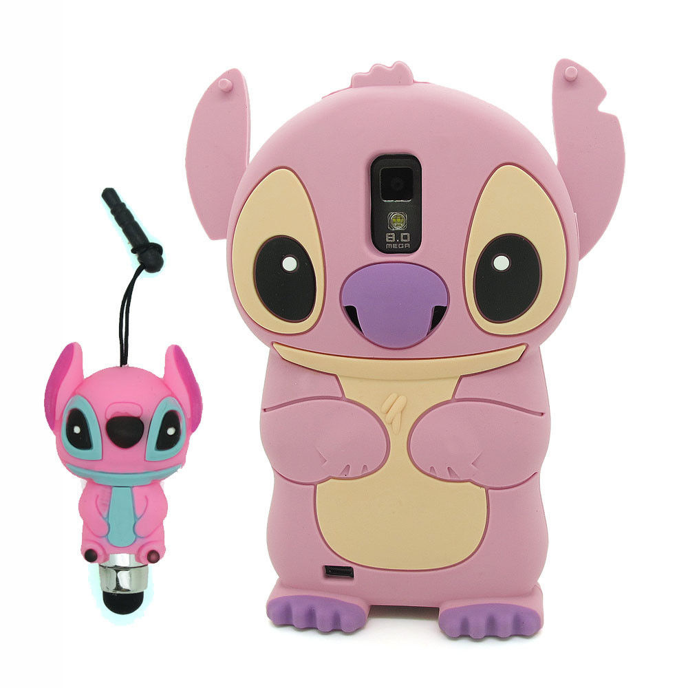 3D Pink Stitch Silicone Case Cover for Samsung Galaxy S2 T Mobile T989 Epic D710 | eBay