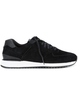 women sneakers cotton suede black shoes