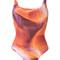 Lygia & nanny - printed swimsuit - women - polyamide - 40, polyamide
