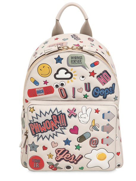 Anya Hindmarch backpack leather backpack leather bag