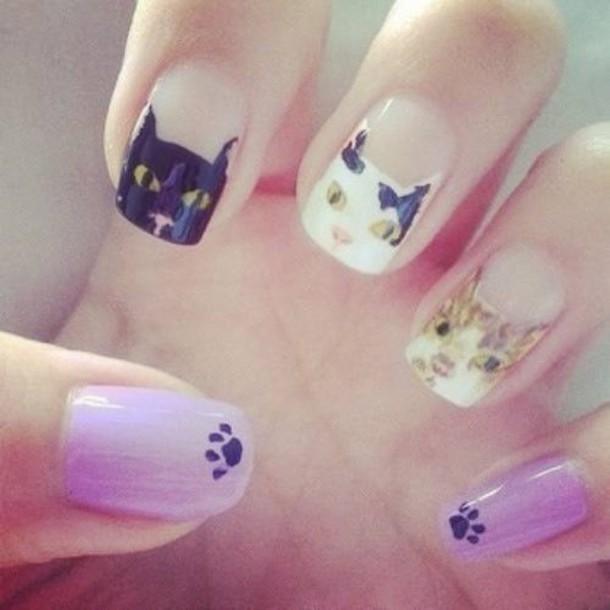 nail accessories lovely girly cool nail polish nail art fashion printed sweater