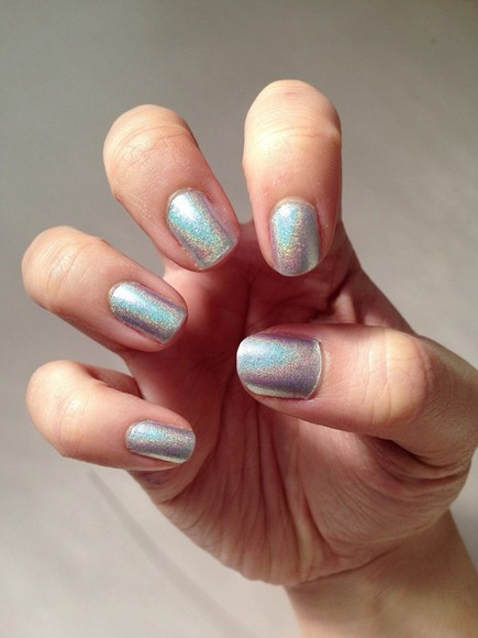 multi-colored nail polish brillant