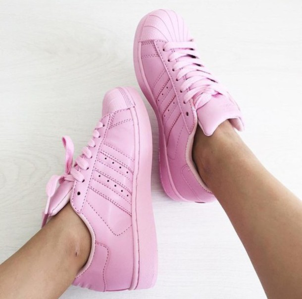 shoes girl girly girly wishlist adidas adidas shoes adidas superstars adidas  originals tumblr pink 0fa264479df3