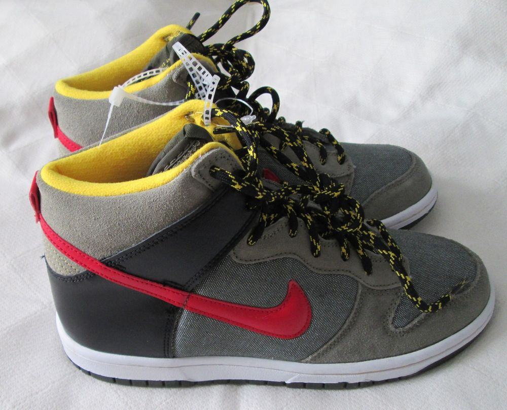 Nike Dunk High GS Boys Girls Basketball Tennis Shoes 308319 301 Khaki 6Y | eBay