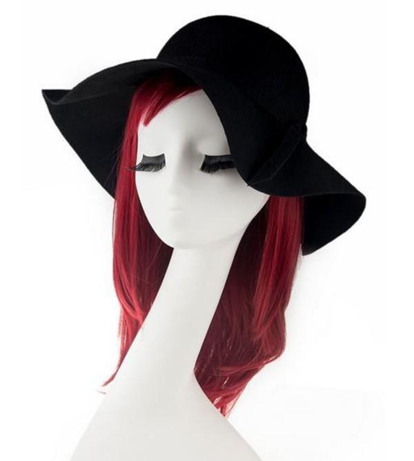 black hat black fedora fedora black felt felt fedora wool felt black wool felt www.ustrendy.com