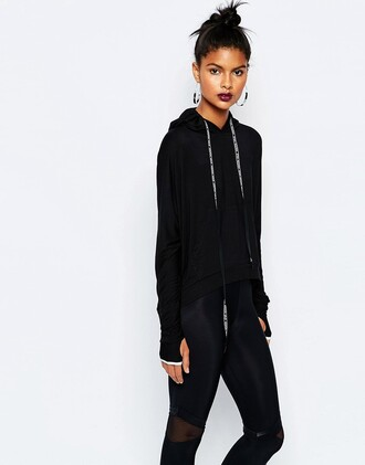 sweater workout hoodie cropped hoodie