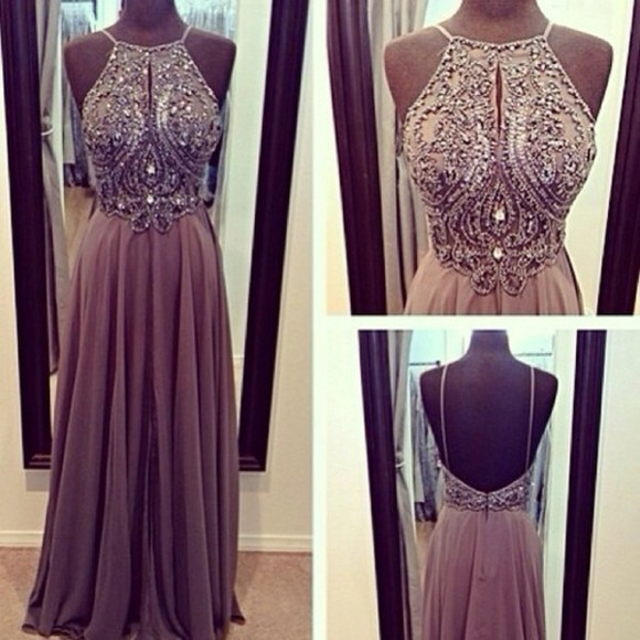 dress prom dress brown dress sparkly dress pintrest silver ball rosa glitter long dress long prom dresses grey sparkly