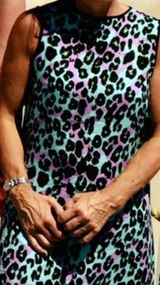 dress animal print summer dress leopard print dress bodycon dress