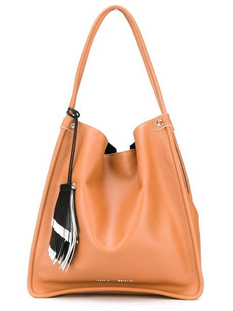 Proenza Schouler women leather brown bag