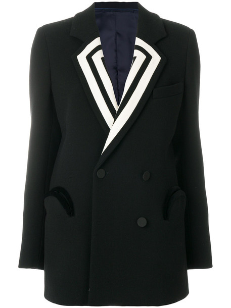 BLAZÉ MILANO blazer women black wool jacket