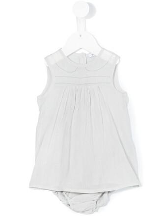 dress back cotton grey