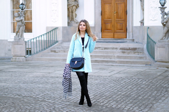 a piece of anna blogger shoes bag coat scarf jewels