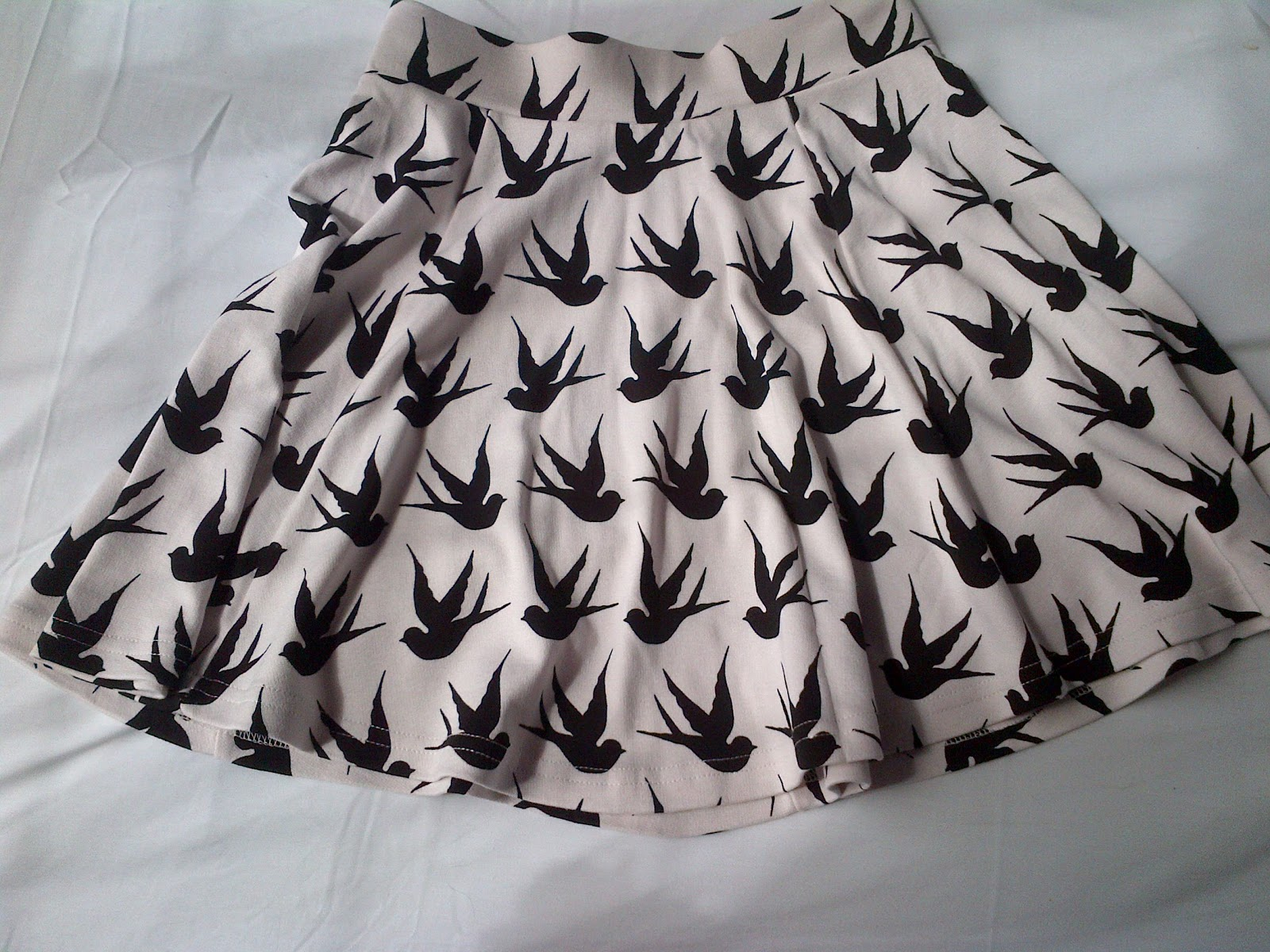 Beautiful Button: The Bird Skirt
