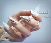 nail polish,holiday nail art,christmas,holiday season,holidays nail art,nail accessories,nail art,acrylic nails,metallic nails