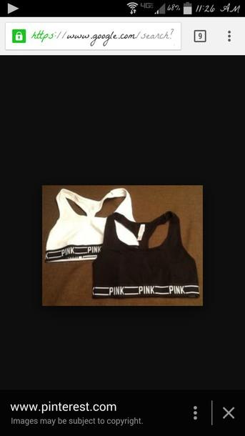 top black sports bra