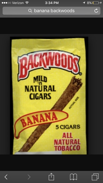 home accessory banana print backwoods cigars