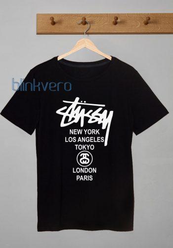 stussy world tour awesome tshirt tanktop sweatshirt hoodie unisex