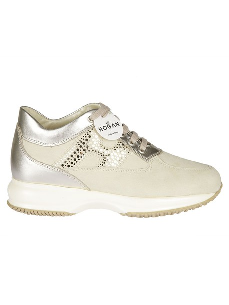 Hogan sneakers nude shoes