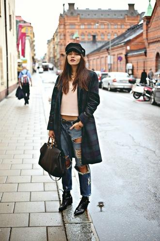 jewels shoes bag jeans blogger natalie off duty