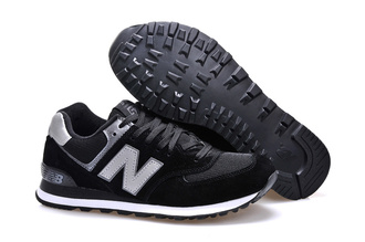 new balance 574 black grey white duvet