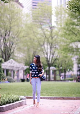 extra petite blogger sweater shoes pants bag belt