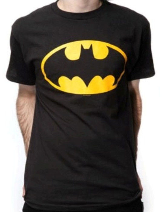 Official Licensed Batman DC Comics Black T Shirt BNWT Dark Knight Movie | eBay