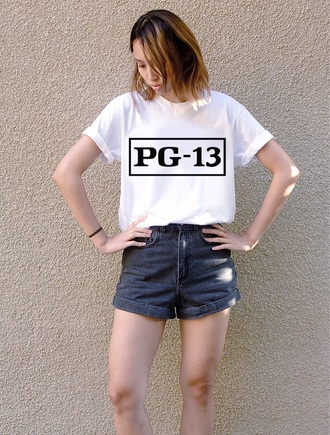 shirt teen tween girly cute hipster pg-13 cute shirt girly top t-shirt style cute top clever trendy hipster punk
