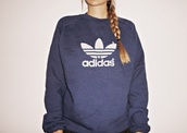 jumper,adidas,women,navy,sweater,sweatshirt,adidas sweater,sportswear,logo