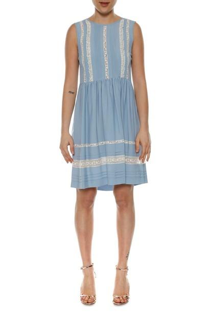 dress short dress sleeveless short lace