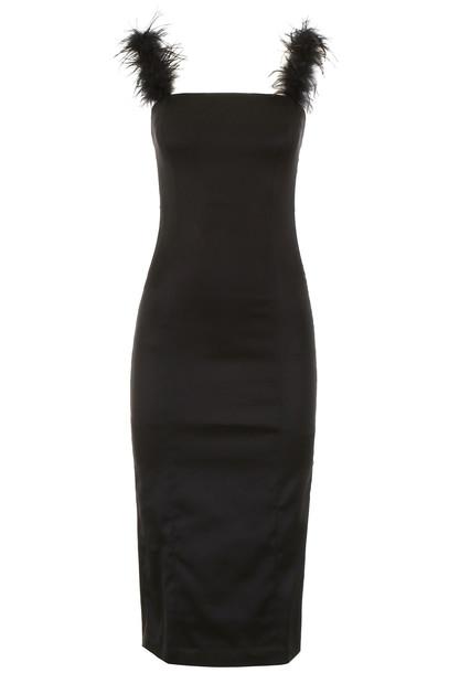 STAUD Romy Dress in black