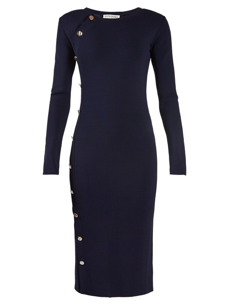 Altuzarra dress knit navy
