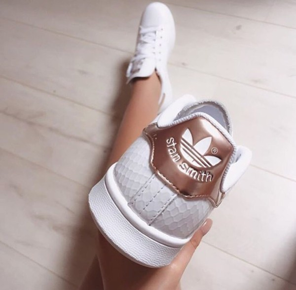 Adidas Stan Smith Women Rose Gold