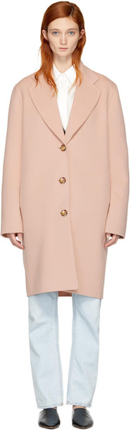 Acne Studios coat pink