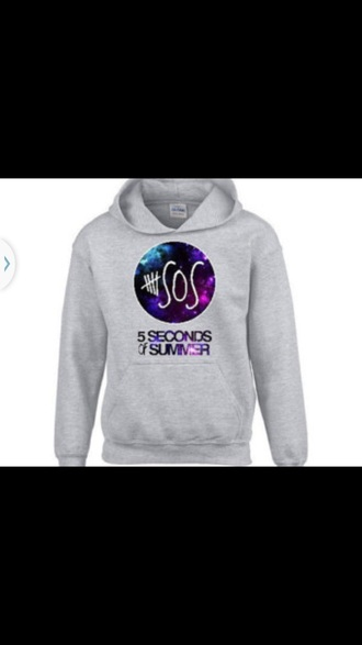 sweater 5 seconds of summer cute galaxy print 5sos hoodie