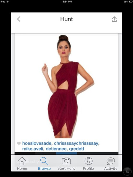 Dress Burgundy Dress Prom Dresses For Juniors Semi Formal Style
