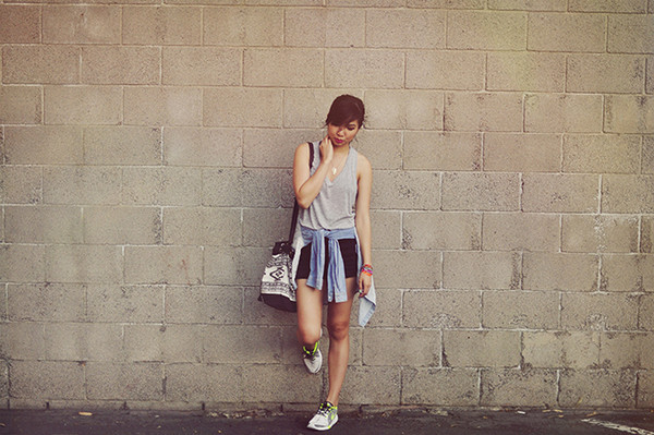 fresh fizzle blogger jewels bag tank top shorts