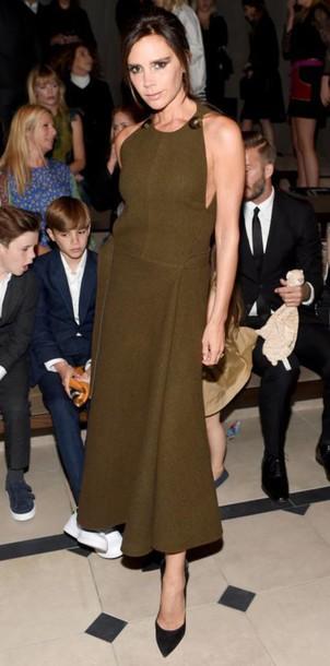 Victoria Beckham Green Dresses