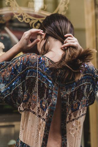 blouse shirt t-shirt tee shirt t shirt perfect blu blue art cool hippie grunge rock fashion street streetstyle