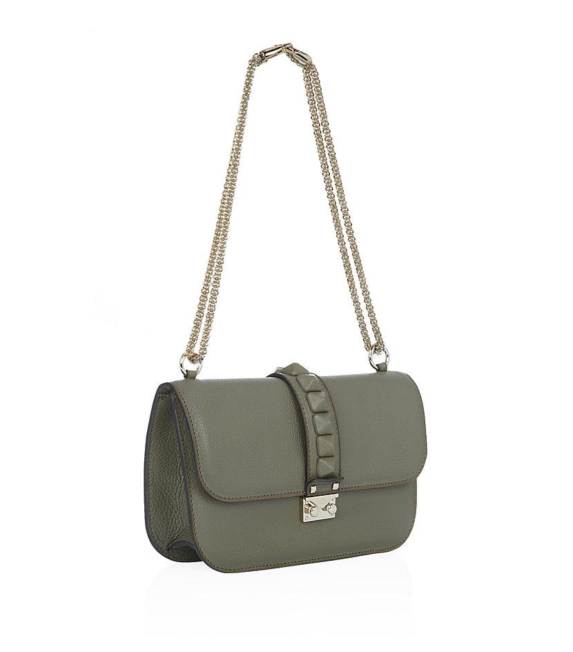 Valentino medium rockstud lock bag