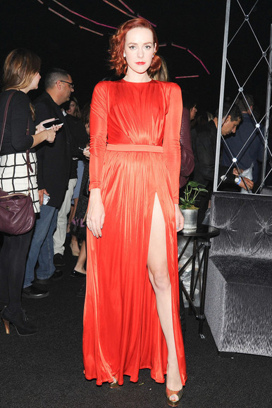 gown prom dress dress jena malone coral coral dress