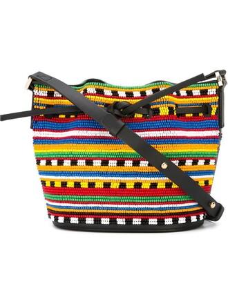 mini women bag shoulder bag leather black