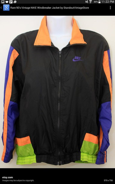jacket nike wind breaker