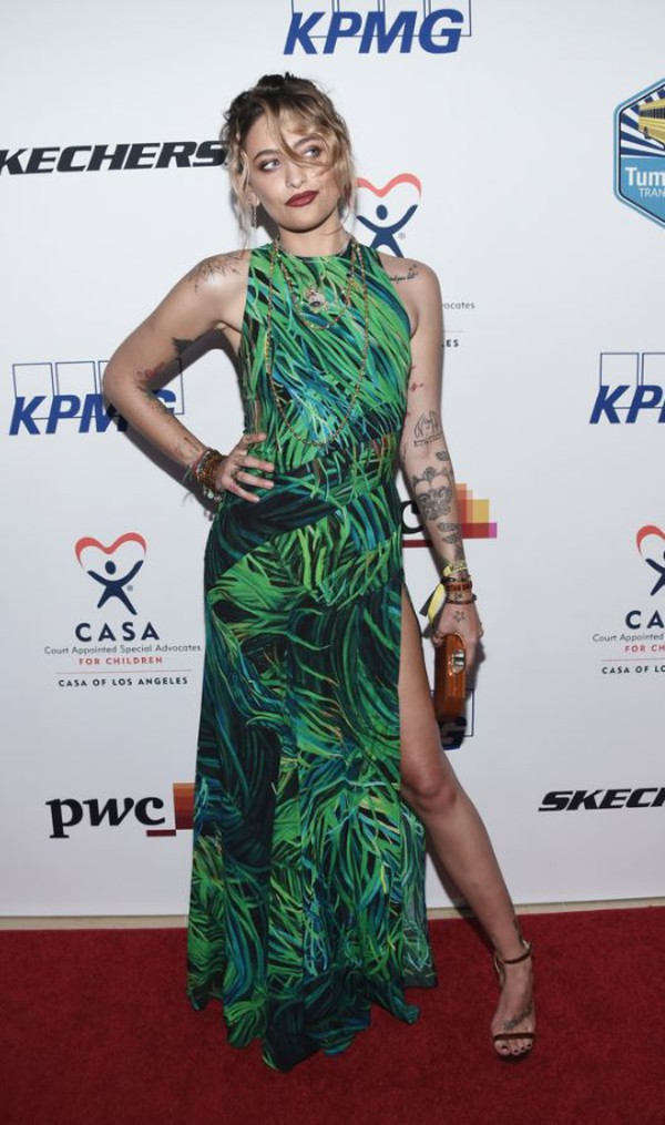 dress green green dress maxi dress sandals paris jackson slit dress