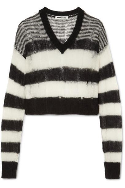 McQ Alexander McQueen sweater mohair black